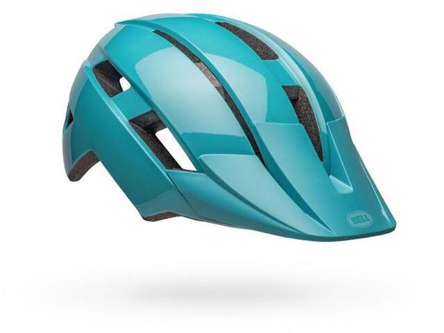 Bell Sidetrack II MIPS Helm Kinder buzz gloss light blue/pink